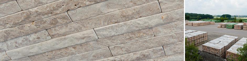 SSG Natursteinwand